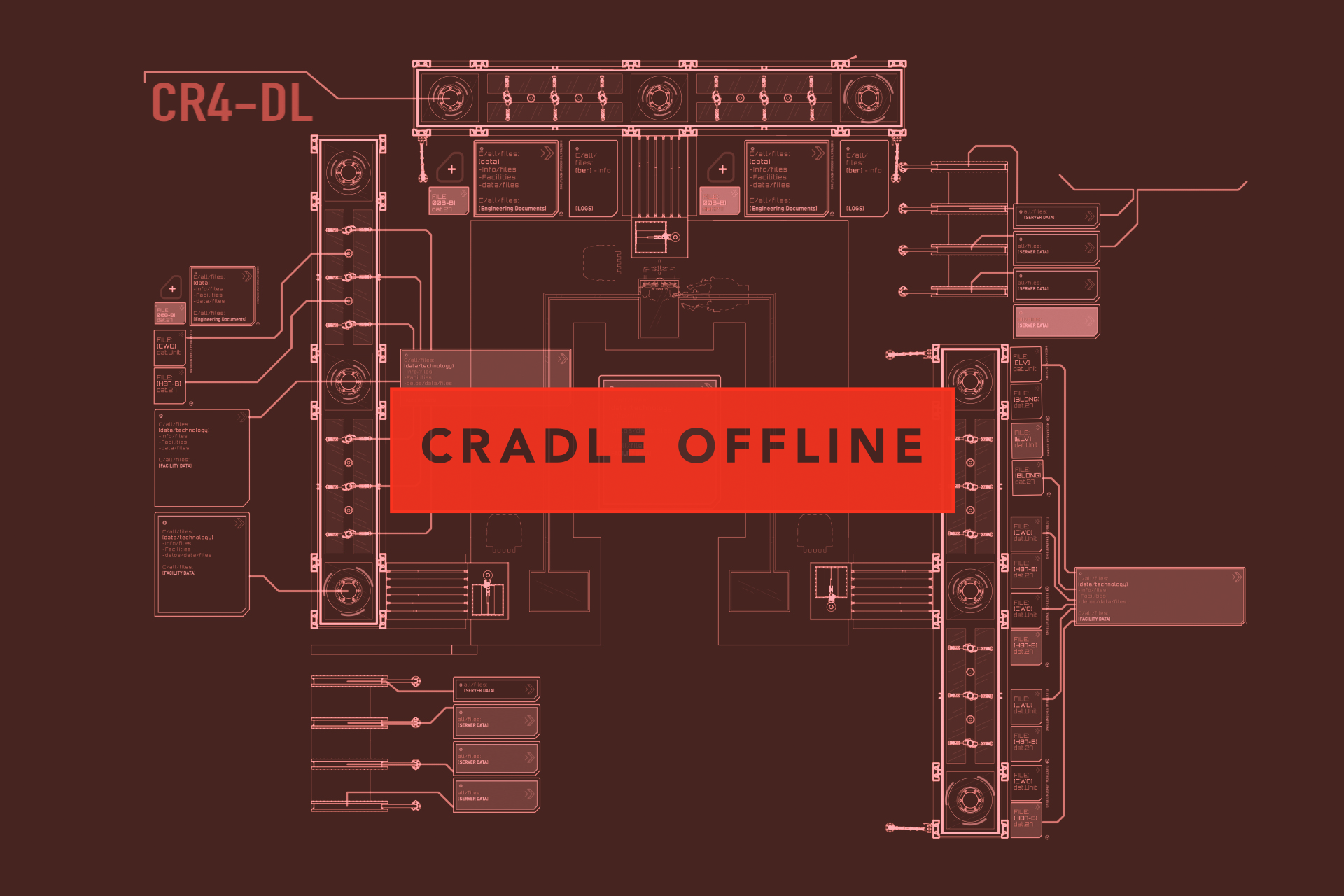 A Guide To Westworlds Viral Marketing For Fans Who Dont Want Black Box Stage Diagram Theater Feiderdesign Schematic Of The Cradle Codenamed Cr4 Dl